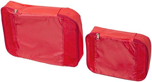 Würfelverpackungen im 2er Set verschiedene Größen (rot)