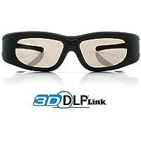 "3x Gafas 3D DLP-Link ""Wave Xtra"" - Full HD 1080p - 144Hz - Gafas universales compatible con todos los proyectores 3D DLP"