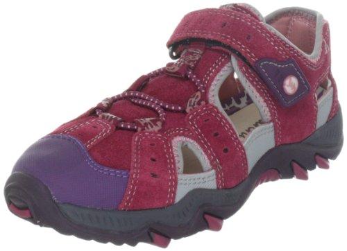 Lurchi Bob 07731, Unisex - Kinder Sandalen, Pink (raspberry 31), EU 30