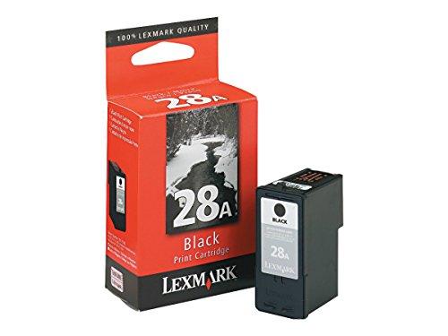 Lexmark Patrone Nr. 28A-Tintenpatrone-1x Schwarz - Tintenpatrone Lexmark 28