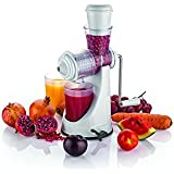 Manual Fruits & Vegetable Juicer With Waste Collector, Steel Handle, Manual Juicer, Natural Fruit Juicer