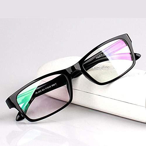ZCCOM Color Blind Corrective Brillen für Rot-Grün-Blindheit Transparent, Farbschwäche, Männer und Frauen Komplett Mild Medium Strong Grade, F-Typ Black Frame