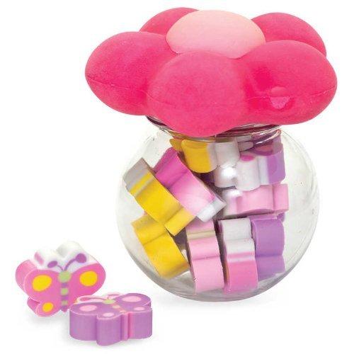 Mädchen Kinder-Mini-Blume und Schmetterling Schöner Erasers Rubbers