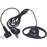 Arama B108M01 Forma Pro D Orecchio gancio stanghetta Cuffie con PTT & Mic per Motorola Cobra Parlano di dual pin Radio 2 vie - Prestazioni Del Motore Magazzino