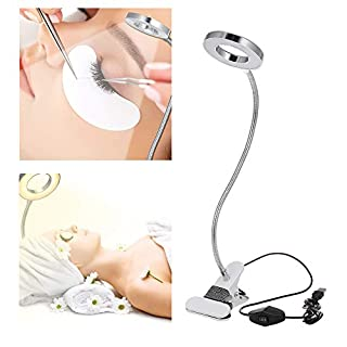 Anself Tattoo Lamp Bendable Desk Lamp Clamp USB Table Lamp Eye Protection Clip Light For Nail Art Working Studying
