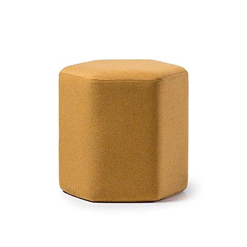 MEIDUO Durable Selles Tabouret de tabouret de ménage Tabouret de magasin de vêtements 7 couleurs pour intérieur extérieur (Couleur : Le jaune)
