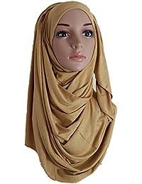 Chal hijab / abaya de algodón de gran calidad, bonito, grande