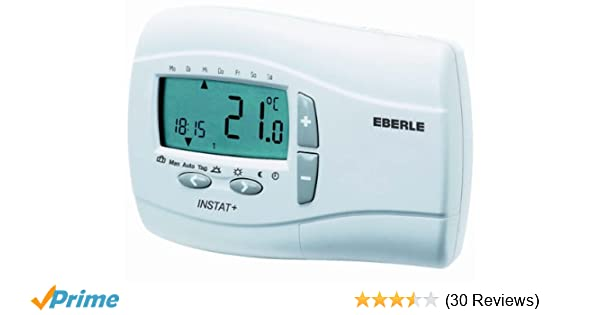 Eberle 053720141900 Eberle Instat Plus 3 R Uhrenthermostat