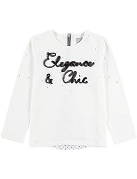 boboli Knit T-Shirt Combined For Girl, Camiseta de Manga Larga Para Niños