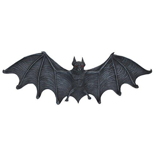 Design Toscano Halloween CL5847 Große Vampir Fledermaus modelliert Wandskulptur mit Haken Garderobe