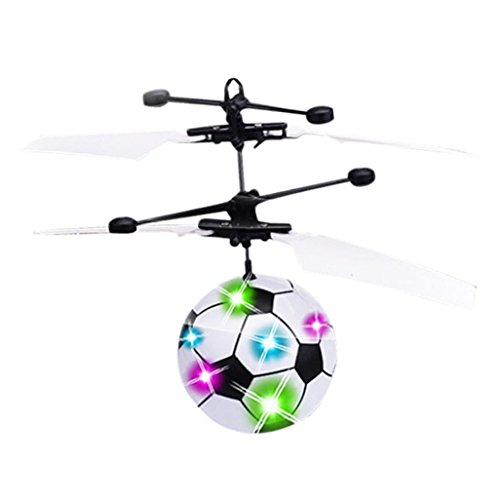 Induktion der bunten Licht Fußball-Craft, mamum Hand Flying Ufo Ball LED-Mini Induktion Lenker Radaufhängung RC Aircraft Flying Spielzeug Drone