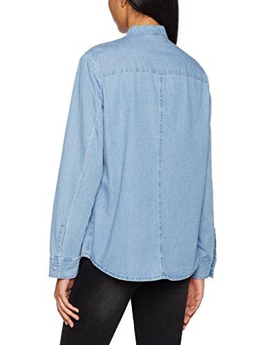 Strenesse Damen Bluse Blouse Taci Blau (Light Blue 820)