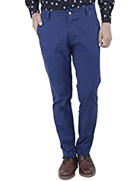 Yuvi Blue Cotton Trouser