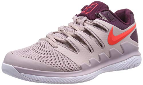 Nike Air Zoom Vapor X HC, Scarpe da Tennis Uomo, Multicolore (Particle Rose/Bright Crimson/Bordeaux 601), 39 EU