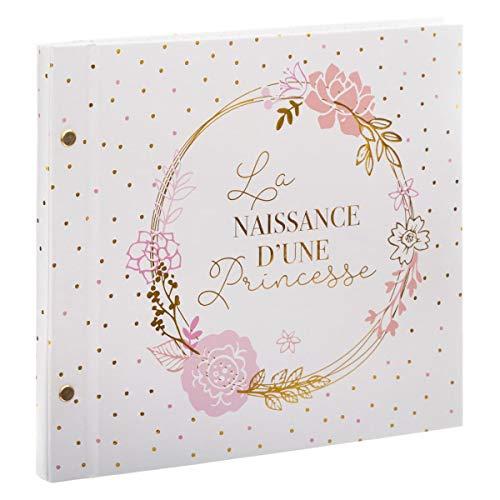 WEB2O Livre de Naissance d'une princesse - Rose - 48 Pages