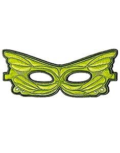 DREAMY DRESS-UPS 50784Verde Máscara de hada (Talla única)