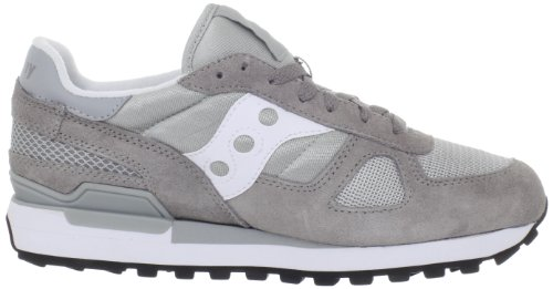 Saucony Herren Shadow Original Niedrige Sneaker, media Grau (Grey/White)