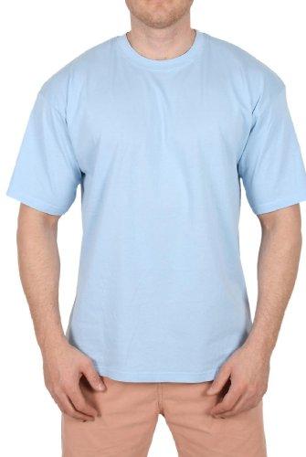 Jerzees (ZT 150)Basic T-Shirt Hellblau