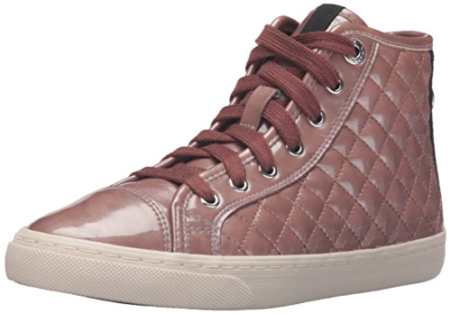 Geox D New Club A, Sneakers Hautes Femme, Pink (Old ROSEC8014), 36 EU