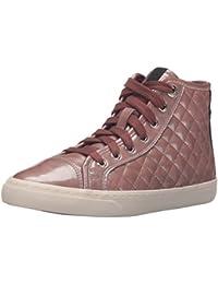 Geox D New Club a, Zapatillas Altas para Mujer