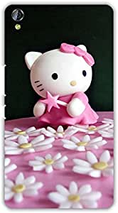 Crazy Beta hello kitty cute cat design Printed mobile back cover case for Micromax Canvas Juice 3 Q394