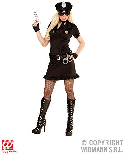 KOSTÜM - POLICE GIRL - Größe 44/46 (L), Uniform Polizistin Cop New York Polizei