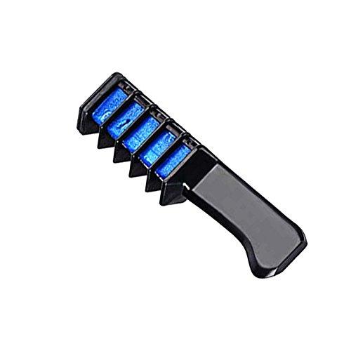 Haarfarbe Ausspülen (Royal Wellness - Haarkreide auswaschbar für helle und dunkle Haare für Frauen und Kinder - Haarkreide Kamm auch für Männer - Haare färben - Haarfarbe - Haarfarben- Haartönungen - Haarentfärber -Fasching - Karneval - Festival - Haarpflege & Styling > Haar Colorationen > Farben (Blau))