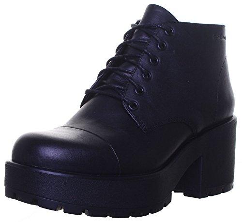 Vagabond Dioon-lacets Bout Oxford Bottes en cuir Pointure 36/UE Noir - Black P01