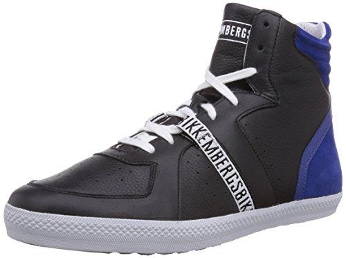 Bikkembergs 660290, Baskets hautes homme Noir - Schwarz (schwarz/blau)