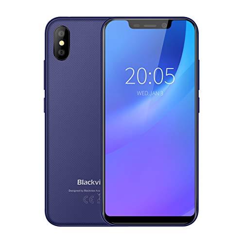 Blackview A30-5,5' 3G Smartphone, 18:9 Pantalla Infinita, Android 8.1 Quad Core 2GB+16GB, Cámara 8MP+5MP,...