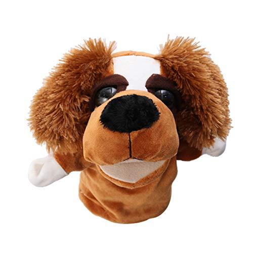 YeahiBaby Marionette Animali Peluche Guanto Doll Story Raccontare Pupazzi Gioco di Ruolo Puppets Giocattolo per Cani