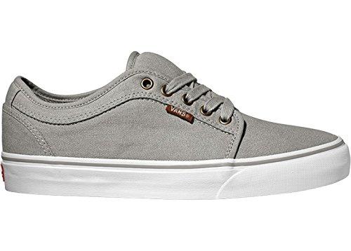 Herren Skateschuh Vans Chukka Low Skateschuhe 10 Oz Canvas Grey/white