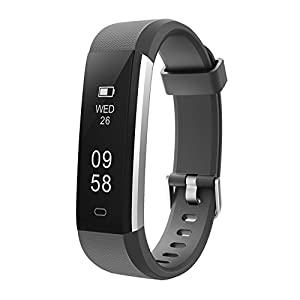 Letsfit Fitness Tracker, Waterproof Activity Tracker with Pedometer Step Counter Watch and Sleep Monitor Calorie Counter Watch, Slim Smart Band for Kids Women Men …