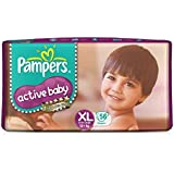 Pampers Active Baby Diapers, XL, 56 Count