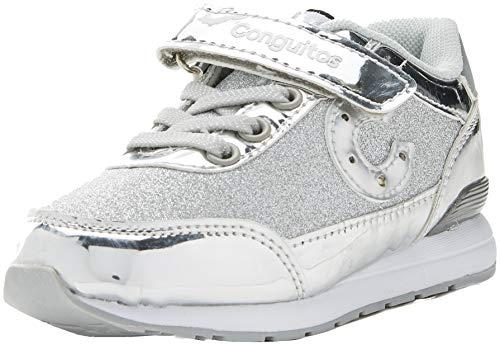 Conguitos-Deportivo-Glitter-con-Luz-Zapatos-de-Cordones-Derby-para-Nias