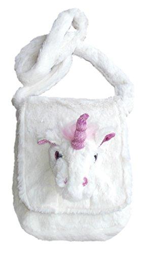 Inware 6196 - Kindergartentasche Einhorn Feemi, weiß, Umhängetasche