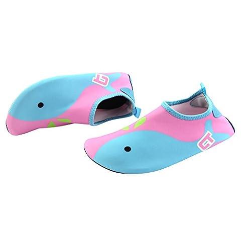 Chaussettes De Natation Enfant - Play Tailor Chaussures d'eau pour enfants Swim