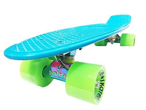 "Ridge Skateboards - 22\"" cruiser with neochrome achsen"