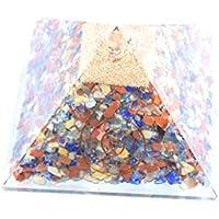 Floting Blue Mix with Aquamarine Orgonite Pyramid Size 3-3.5 inch Chakra & Reiki Healing Aura Cleansing Crystal... preisvergleich bei billige-tabletten.eu