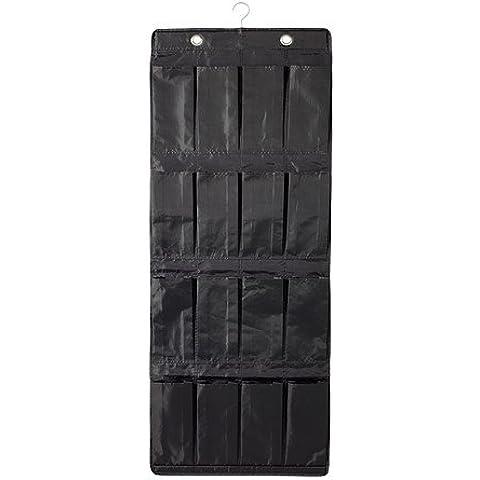 IKEA SKUBB - Zapatero con 16 compartimentos para colgar sobre la puerta con gancho