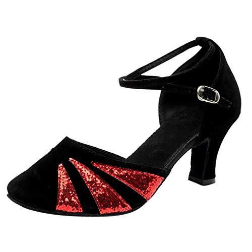 Tanzschuhe High Heel School Fersenschuhe Frauen Schuhe Sandalen Ausgestelltes Tanzschuhe Ballsaal Standard Latin Dance Stiletto Pumps Party Shoes Tango Latin Salsa Dancing Shoes - Latin Dance Pants