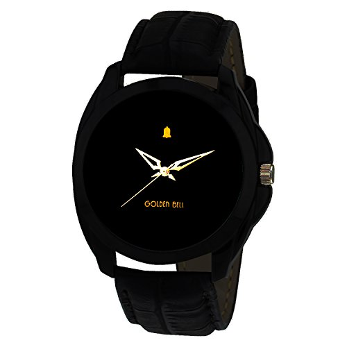 Golden-Bell-Analogue-Black-Dial-Mens-Watch-GB-201Blk