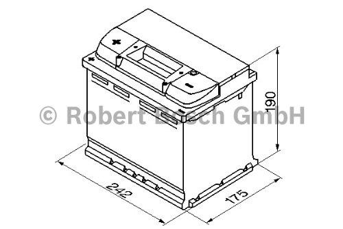 Preisvergleich Produktbild Bosch 0092S40060 Batterie 60 mAh 540 A