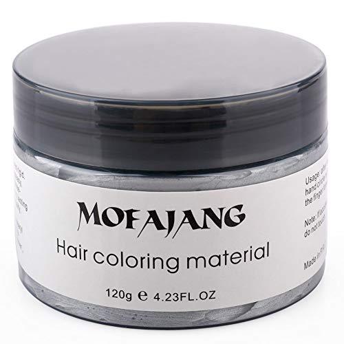 INFILM Unisex Haarwachsfarbe, One time Molding Pasta erhältlich Oma Grau (Temporäre Haar-spray Dye)