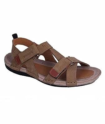 Woodland Khaki colour Casual Sandals for Men Size : 11 UK