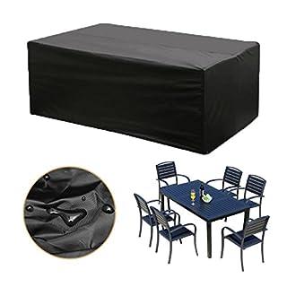 KINGSO Möbel Wasserdicht Abdeckung Sofa Staubdicht Outdoor Schutzhülle Für  Tisch Garten Regenschutz Für Gartenmöbel Terrasse Möbel