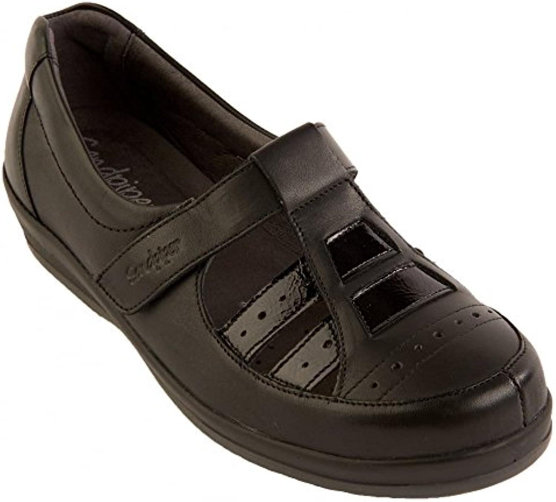 Sandpiper - Mocasines para mujer Negro negro (black patent)