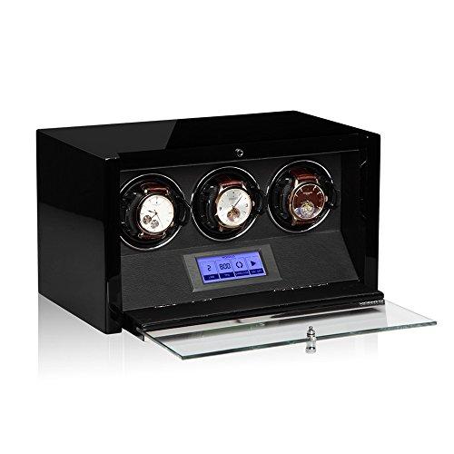 Modalo Clasico MV3 Uhrenbeweger für 3 Automatikuhren in schwarz 3303113 - 2