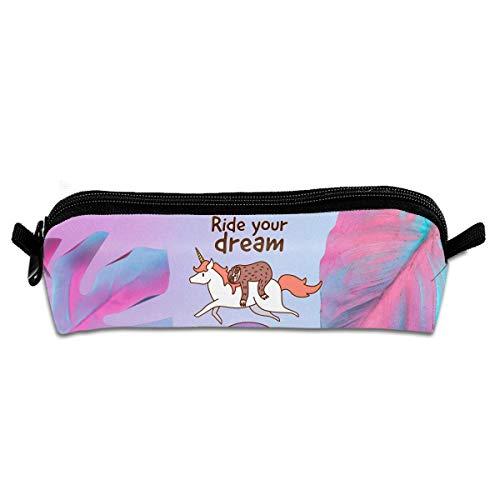 Ride Your Dream Printed Makeup Beutel Kosmetiktasche Schlüsseltasche Geldbörse Schreibwarenetui Federmäppchen -