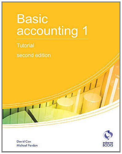 Basic Accounting 1 Tutorial: 1 (AAT Accounting - Level for sale  Delivered anywhere in UK